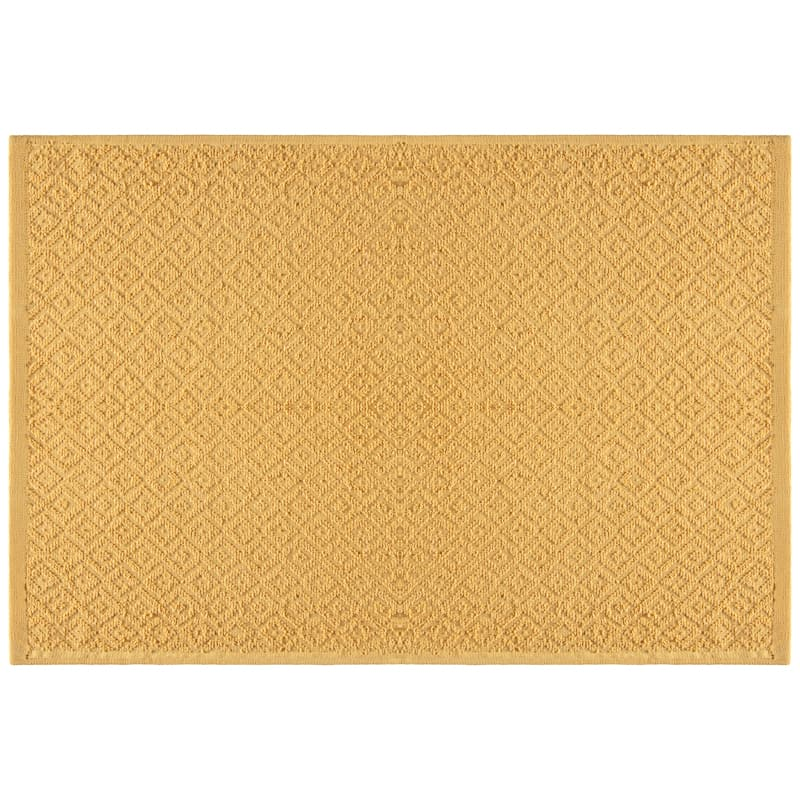 Geo Sculptured Tea Towels 3pk - Ochre
