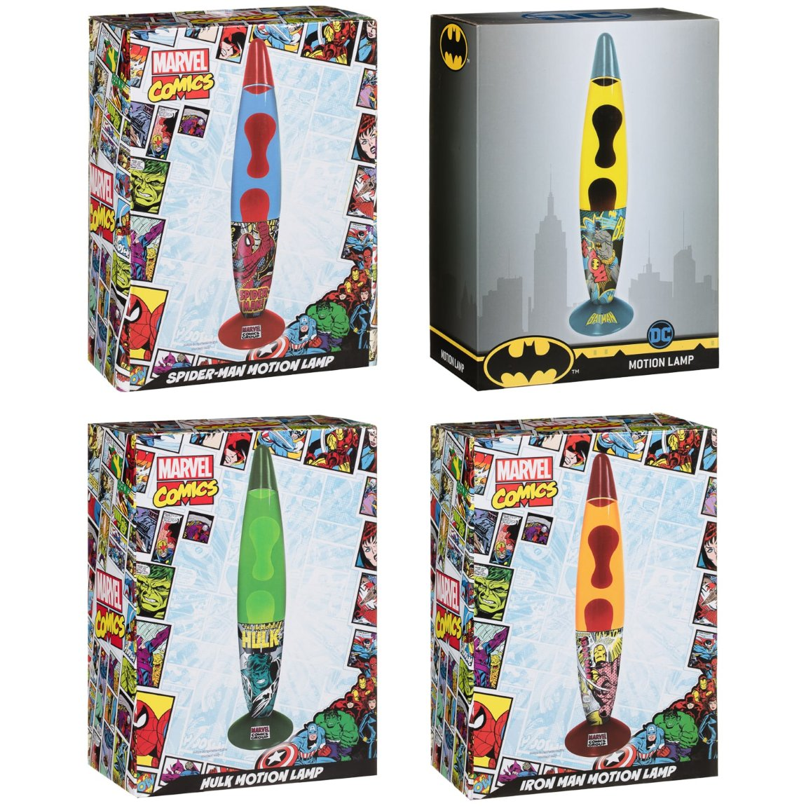Superhero Lava Lamp - Batman