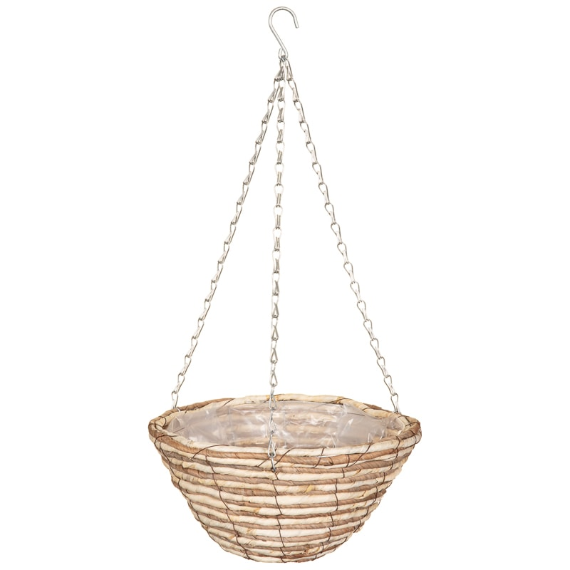Corn Rope Round Hanging Basket 12