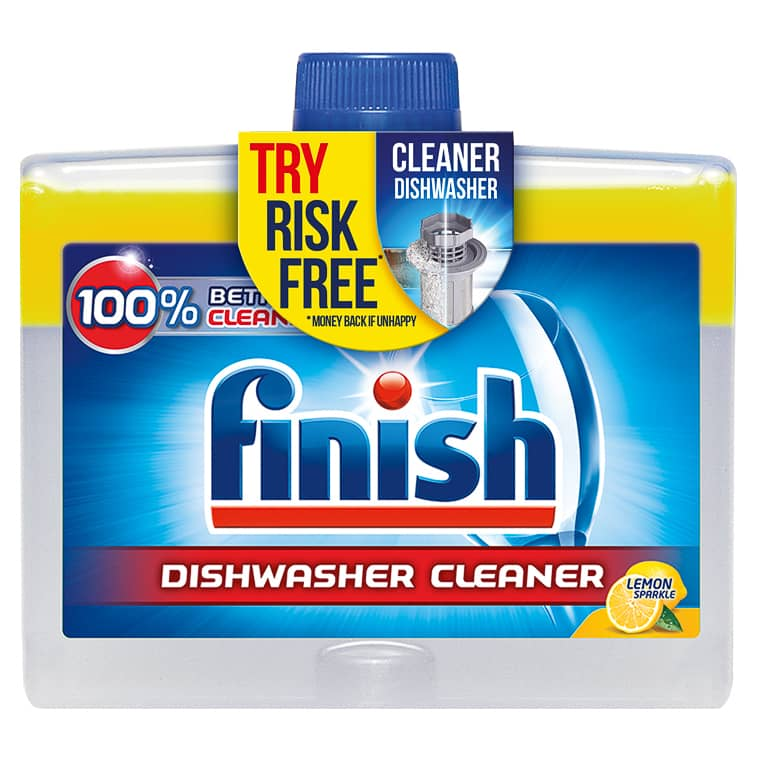 Finish Dishwasher Cleaner 250ml - Lemon