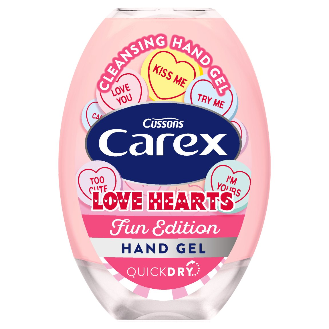 Carex Love Hearts Hand Gel 50ml