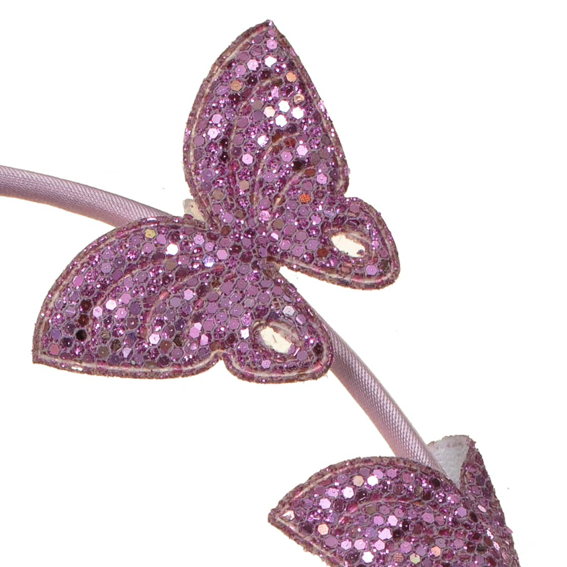 Ella Shaped Headband - Glitter Butterfly
