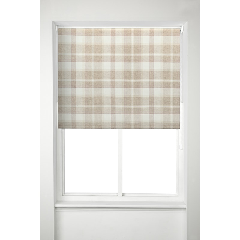 Oakland Check Roller Blind 150cm