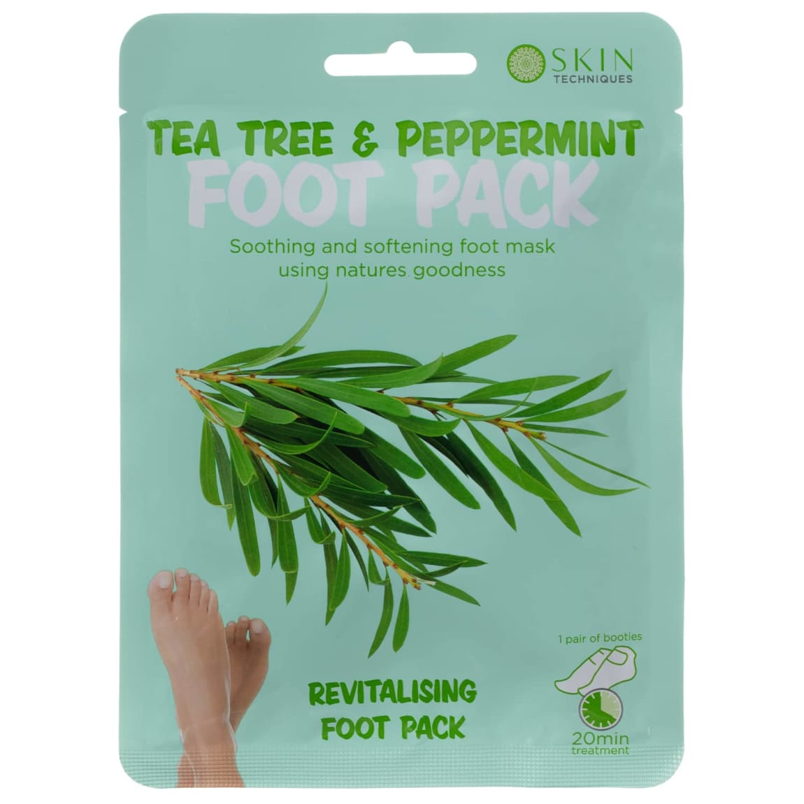 Skin Technique Tea Tree & Peppermint Foot Pack