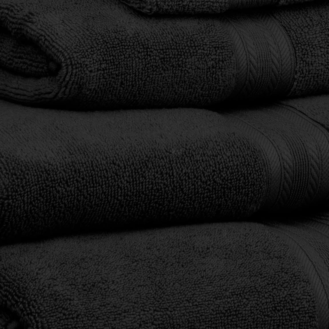 Signature Bath Towel - Black