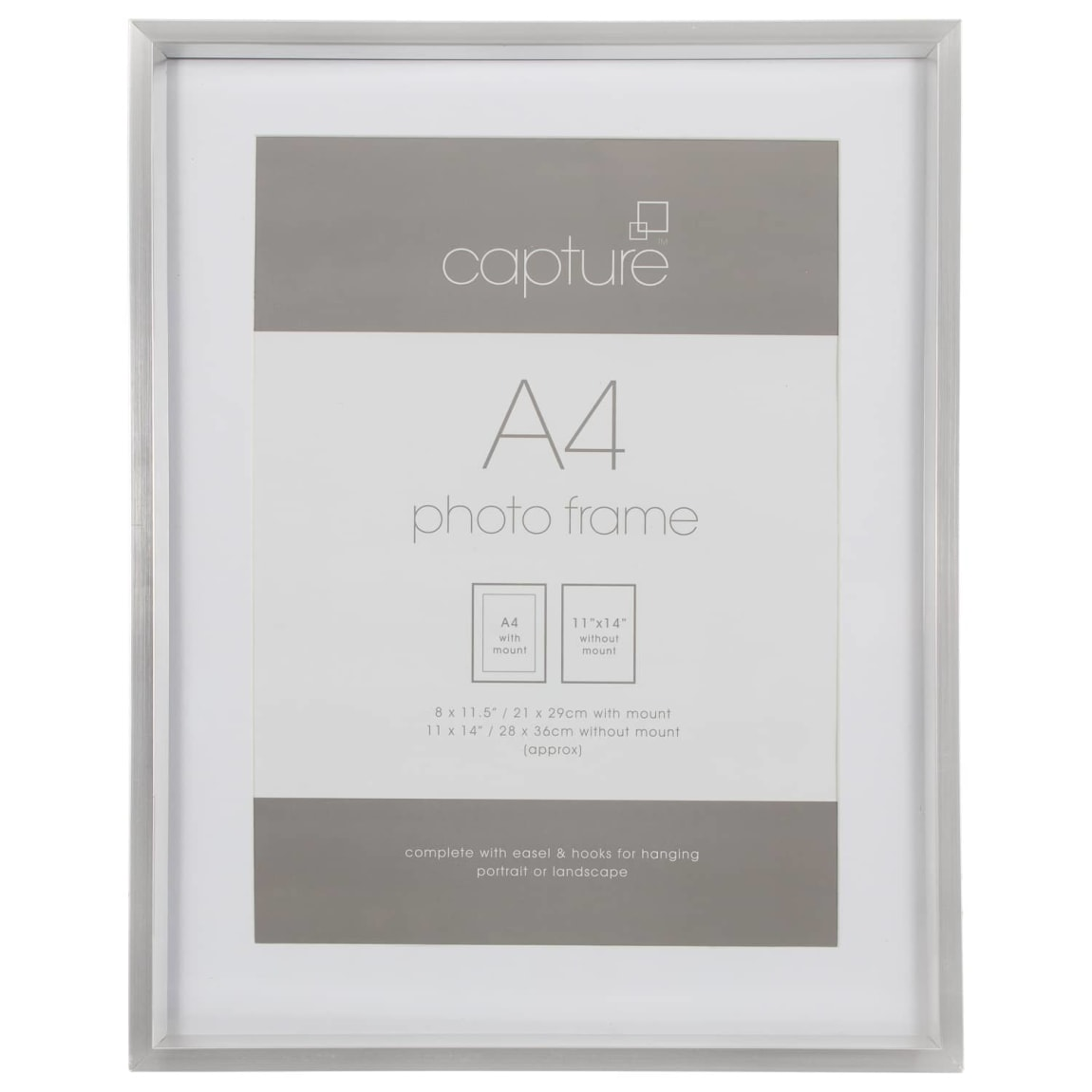 A4 Metallic Picture Frame