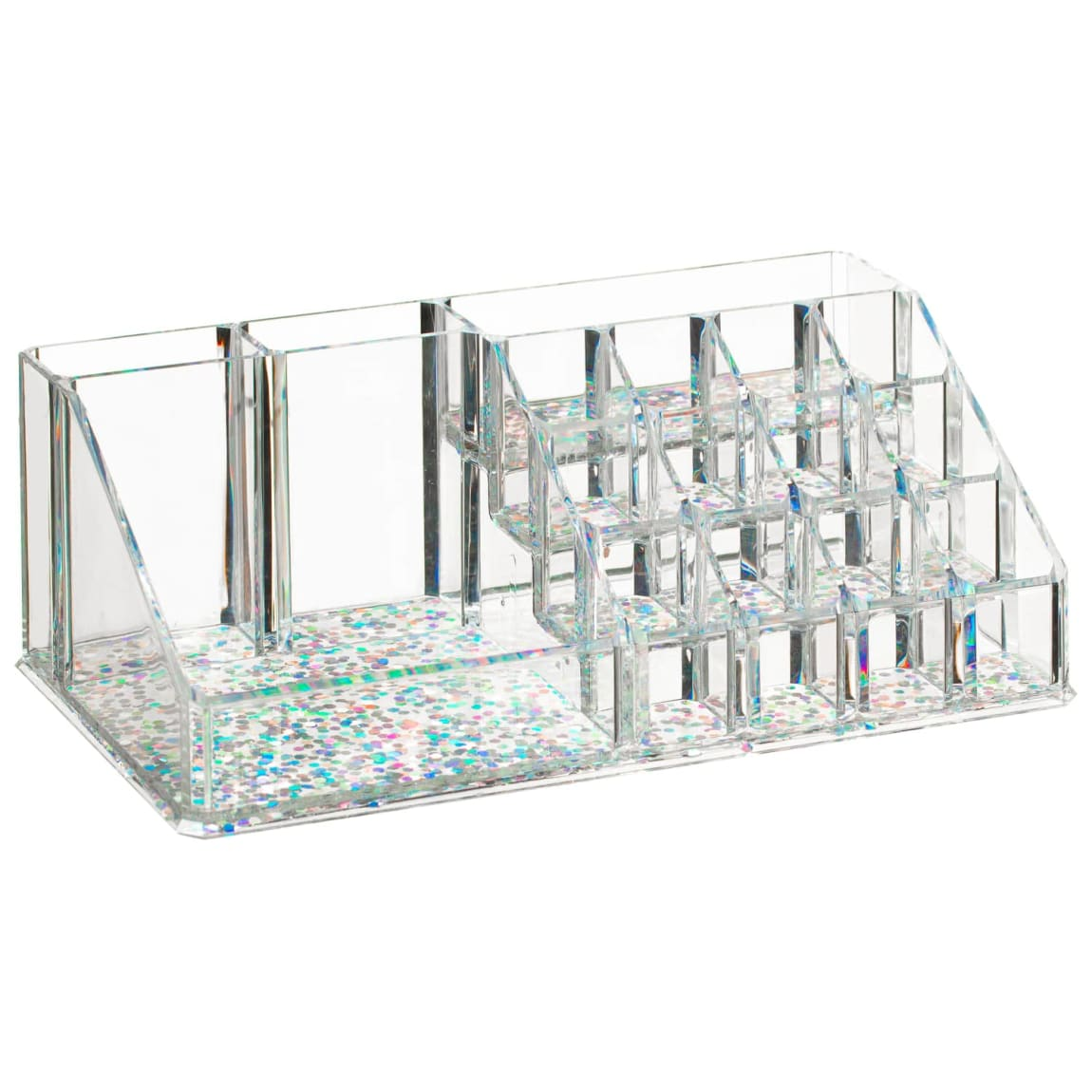 Glitter Cosmetic Multi Storage Caddy