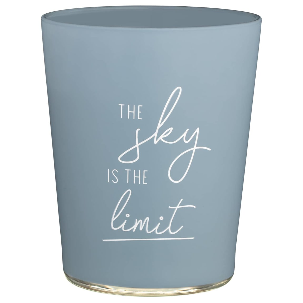 Slogan Candle Jar - Sky is the Limit