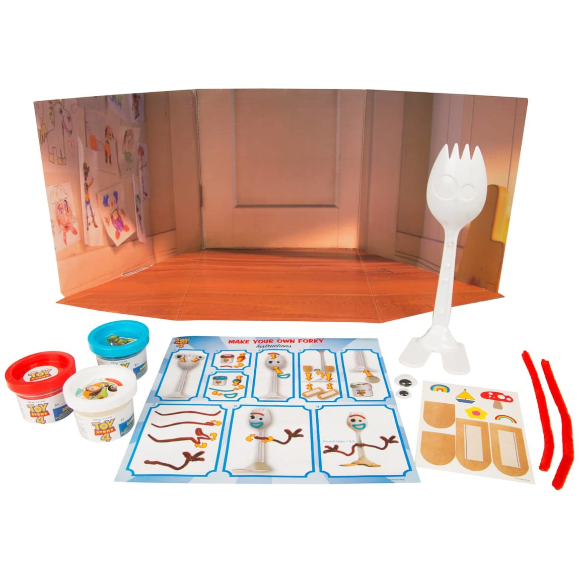 Toy Story 4 Make-Your-Own Forky Craft Set