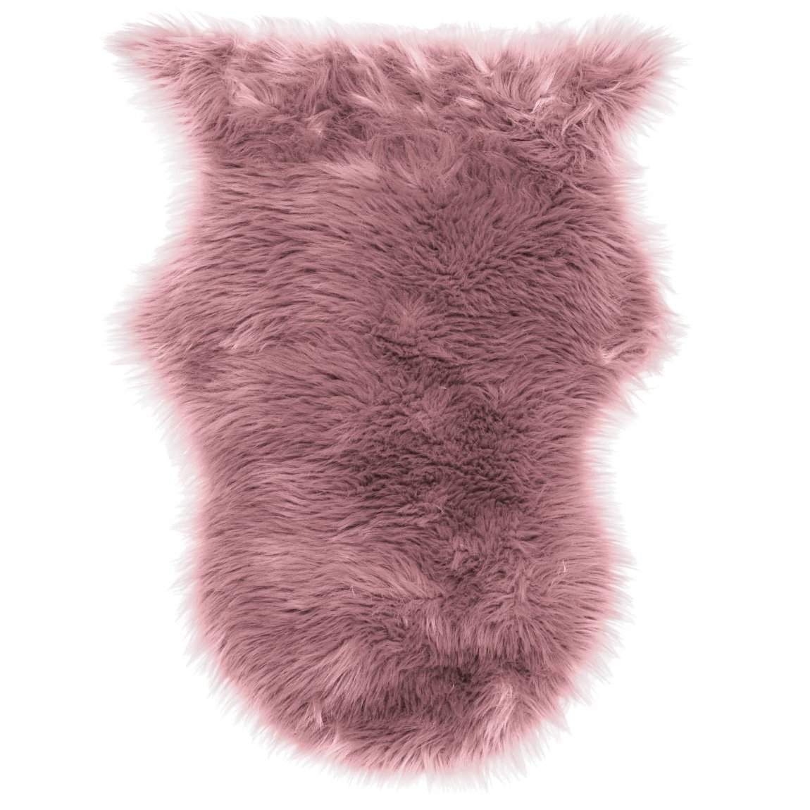 Faux Sheepskin Rug 50 x 90cm - Blush