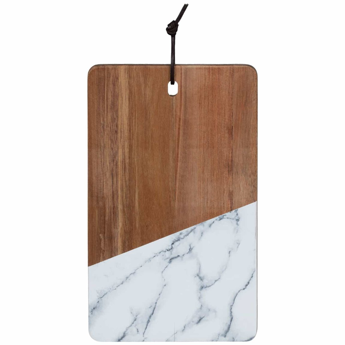 Acacia Chopping Board with Marble - Small