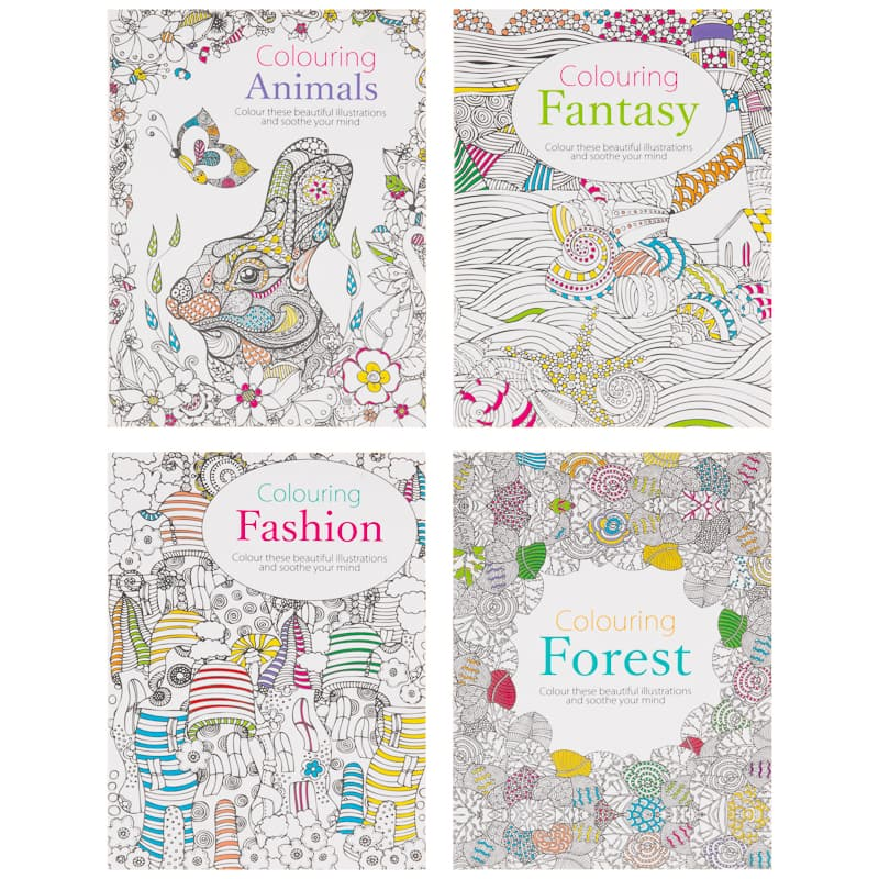 The Mini Book of Colouring Forest