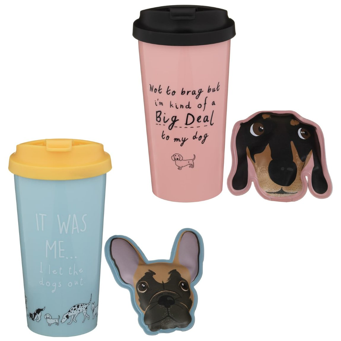 Thermal Mug & Hand Warmer - I Let the Dogs Out