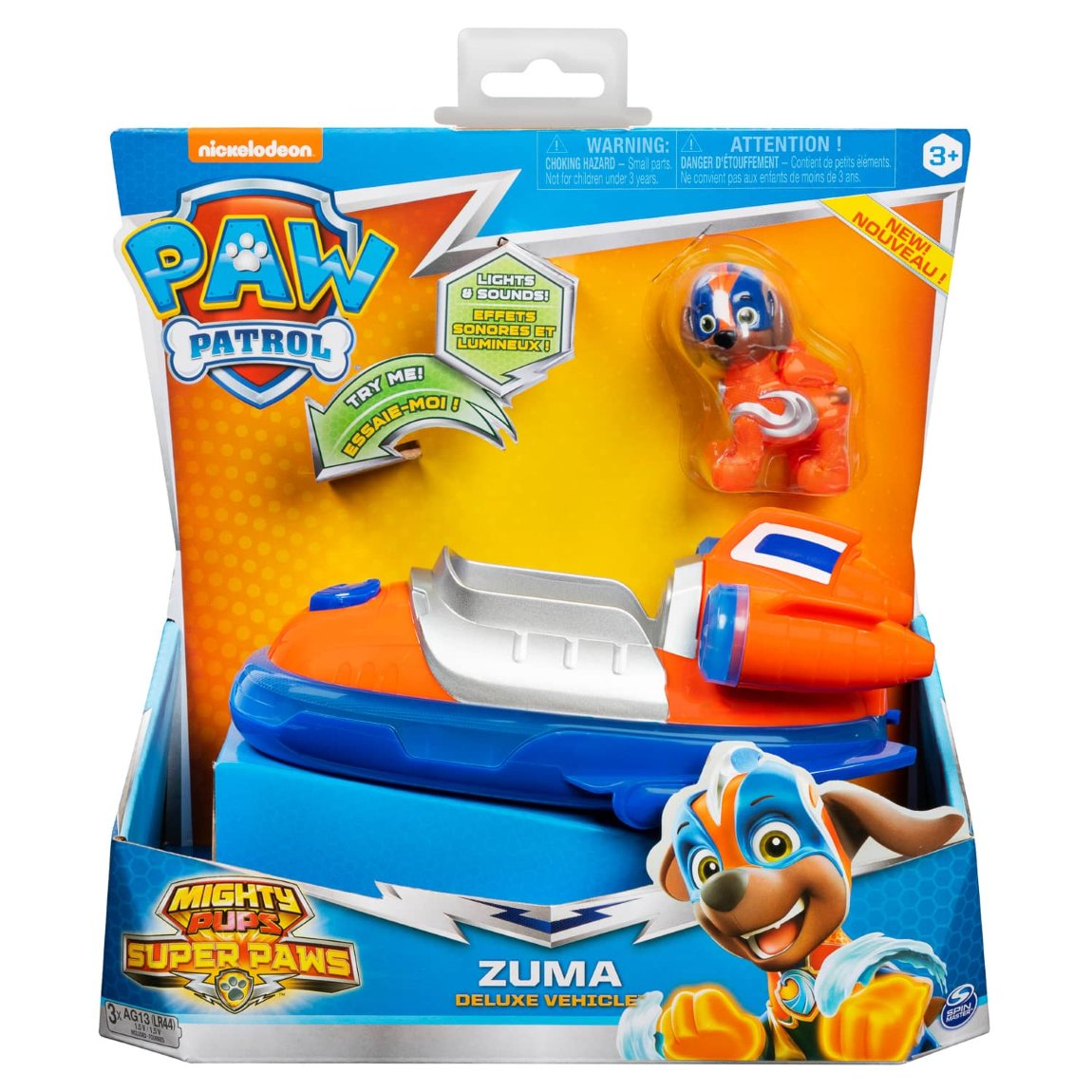 Paw Patrol Lights & Sounds Deluxe Vehicle - Zuma