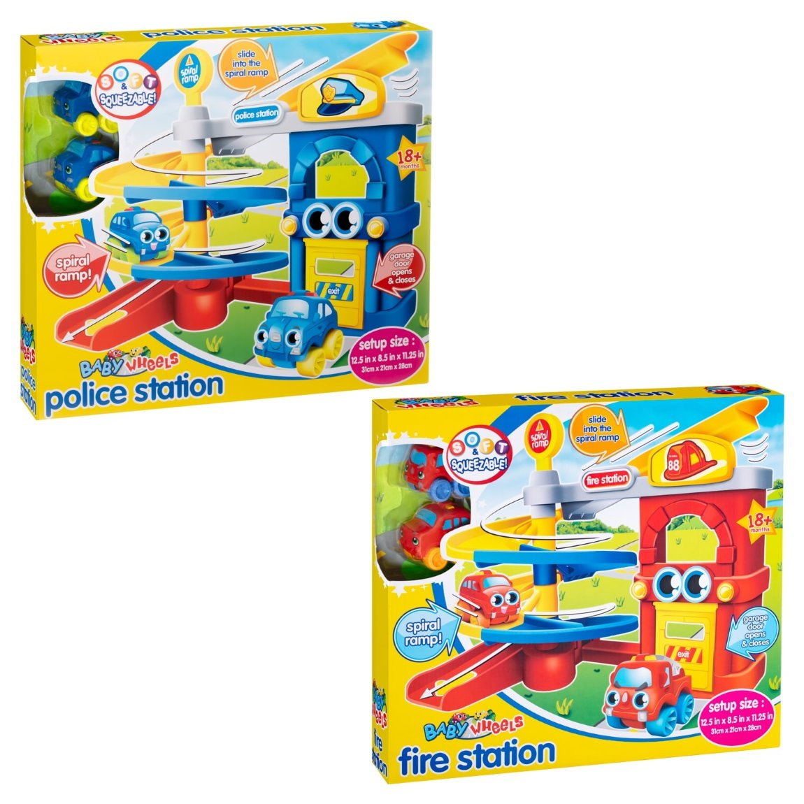 Baby Wheels Police Station