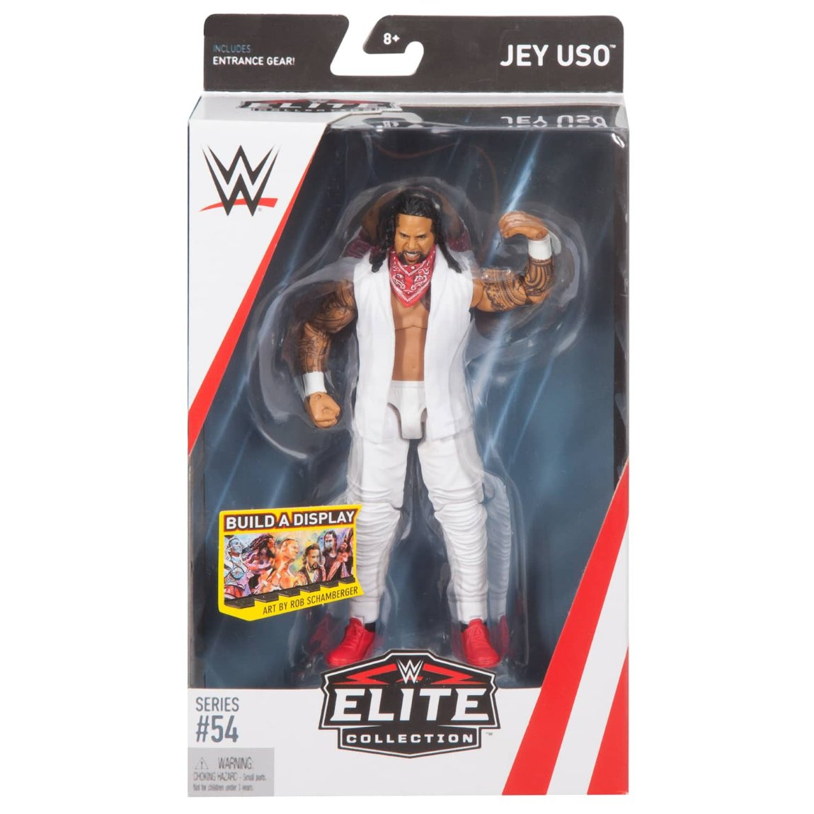 WWE Jey Uso Elite Collection Action Figure