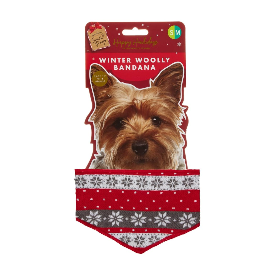 Winter Woolly Bandana for Dogs