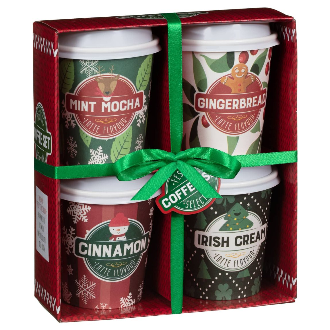 Festive Coffees Selection Gift Set | Novelty Christmas ...