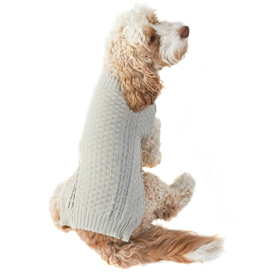 Doggy Jumper - Medium - X-Large - Cable Knit
