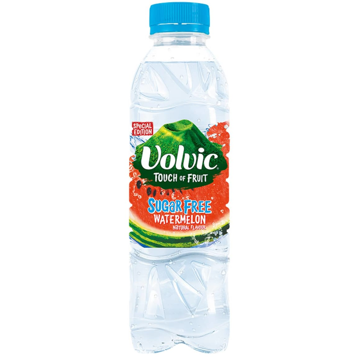Volvic Touch of Fruit Sugar Free Water 500ml - Watermelon