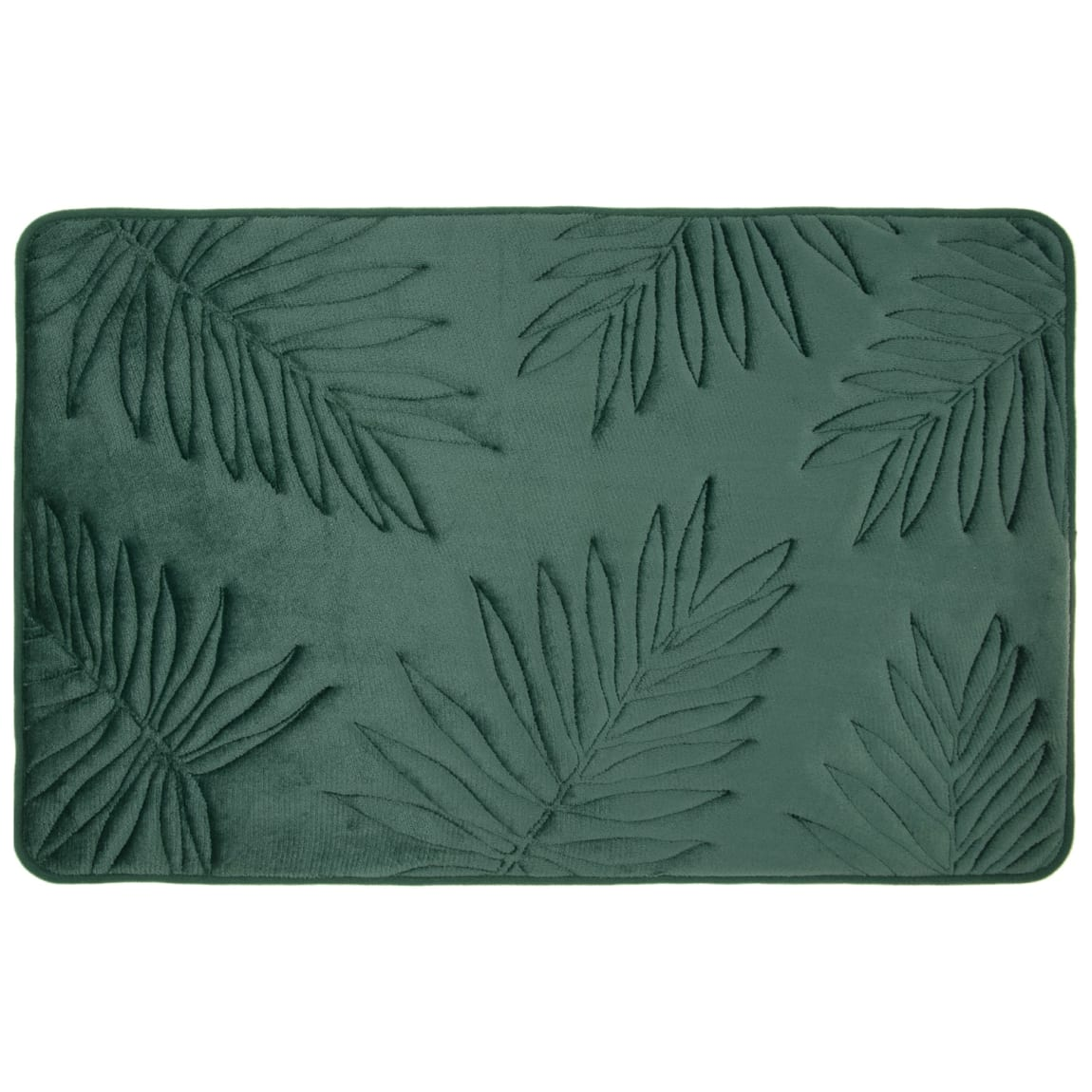 Palm Leaf Memory Foam Bath Mat