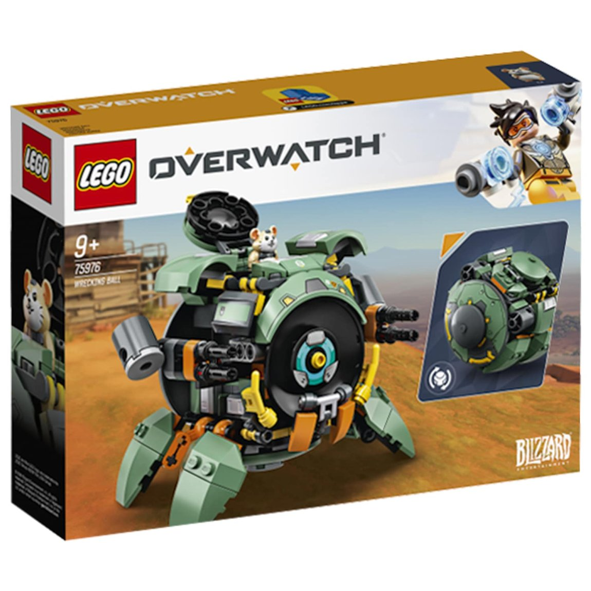 LEGO Overwatch Wrecking Ball