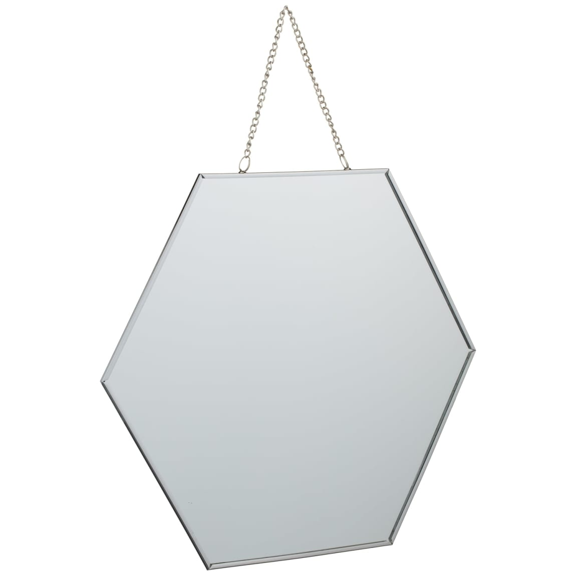 Hanging Hexagonal Mirror