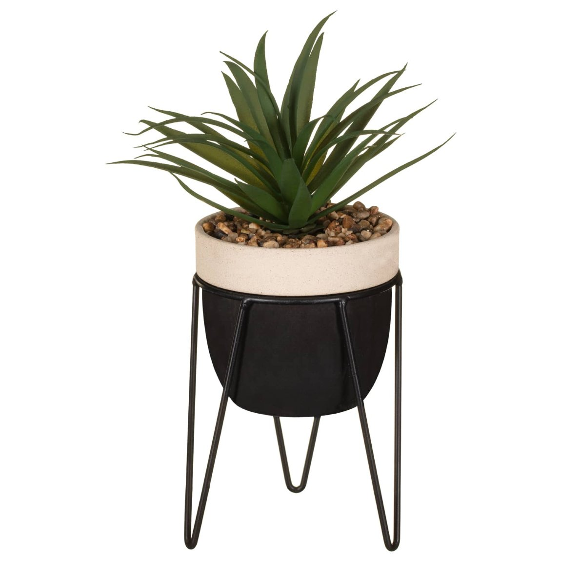 Artificial Plant on Black Stand