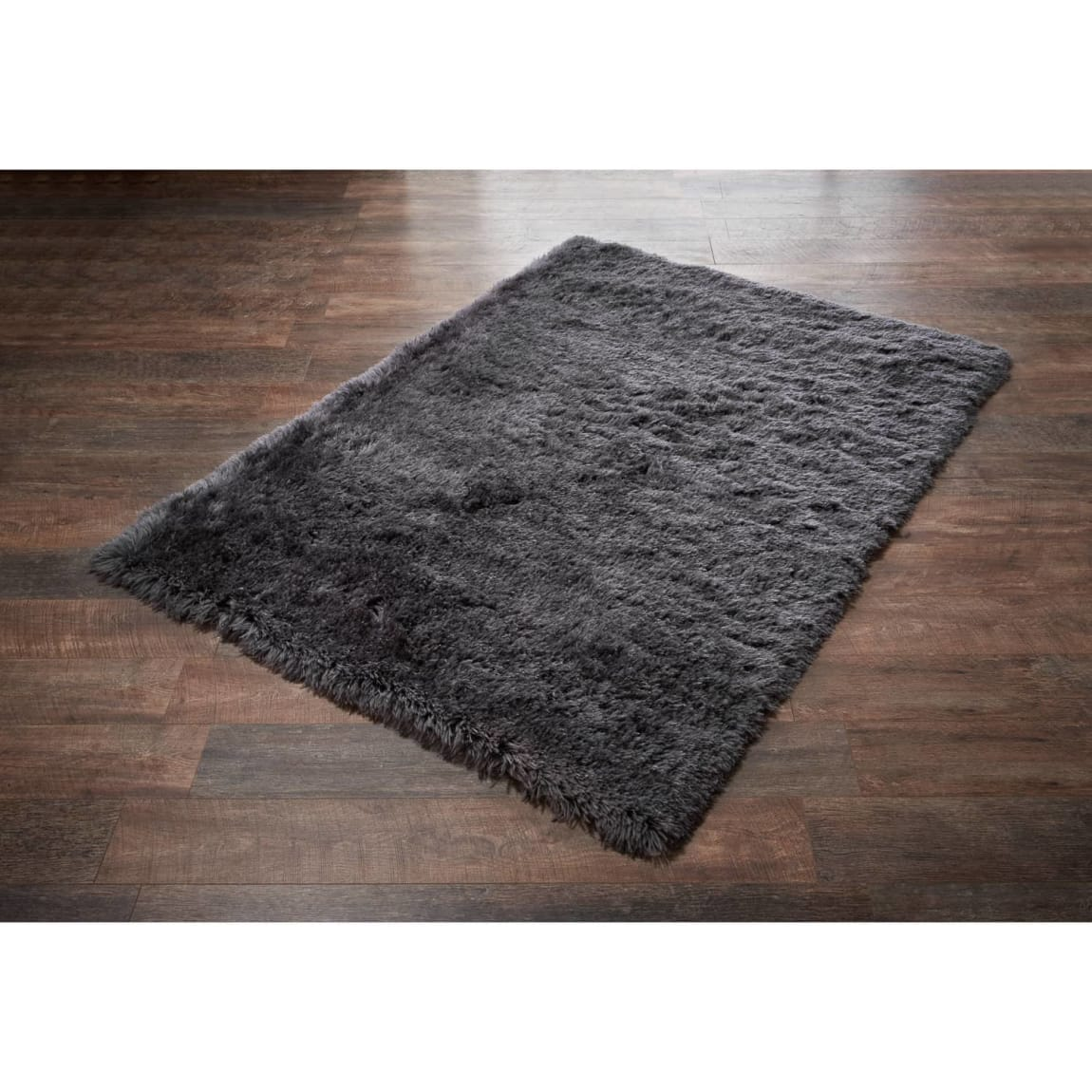 Charcoal Ostrich Rug - 110 x 160cm