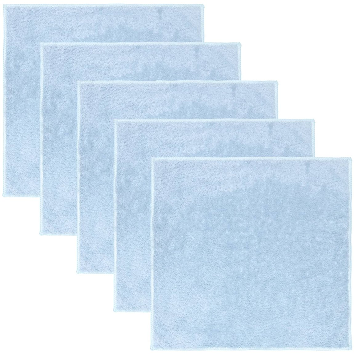 Deluxe Super Soft Microfibre Dusters 5pk - Blue