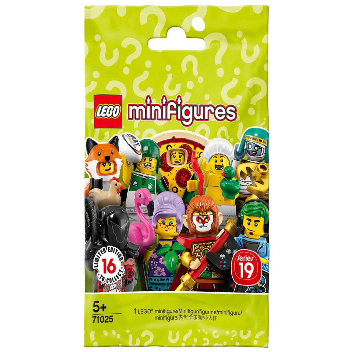 LEGO Minifigures Series 19 From B&M Toys