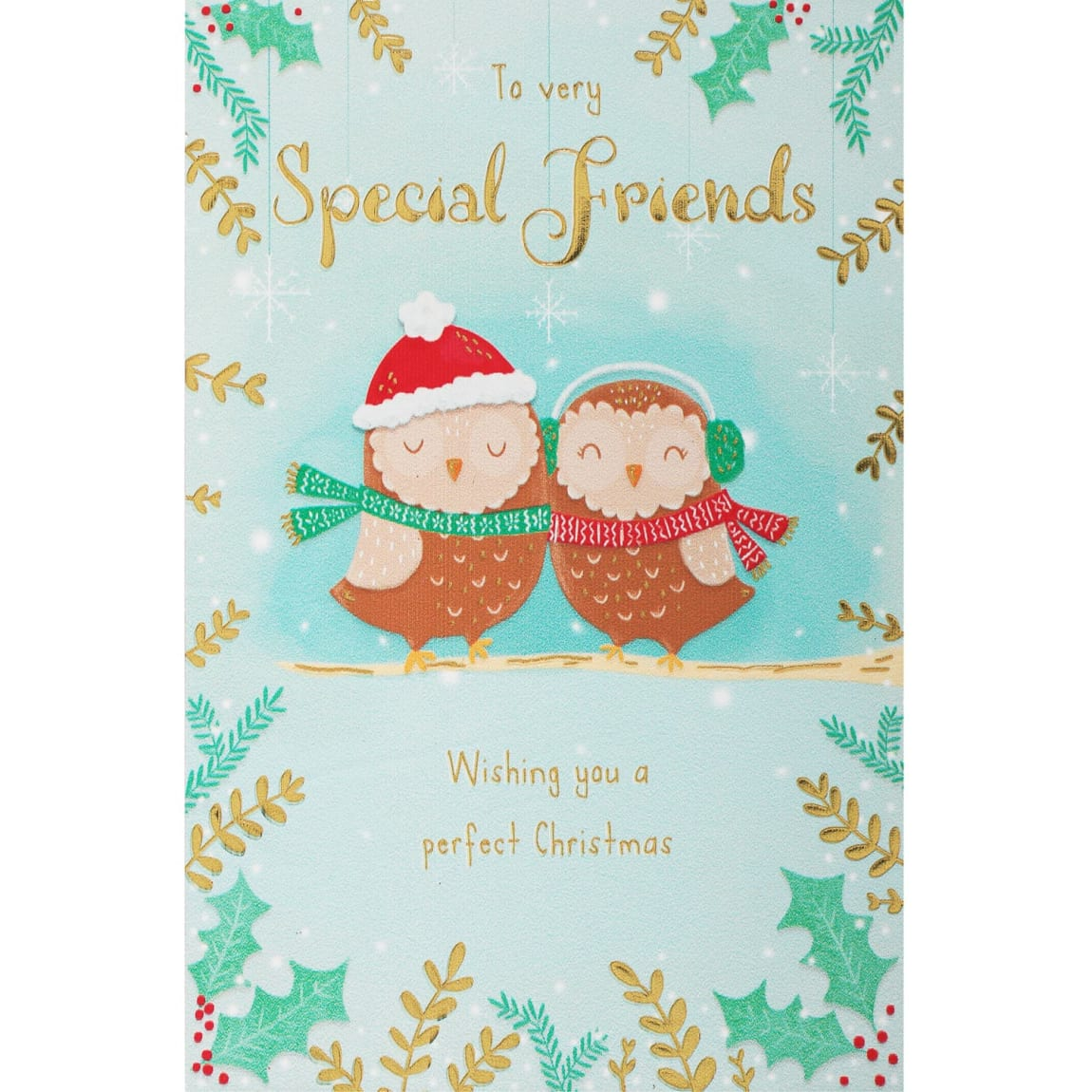 To Special Friends - Christmas Card