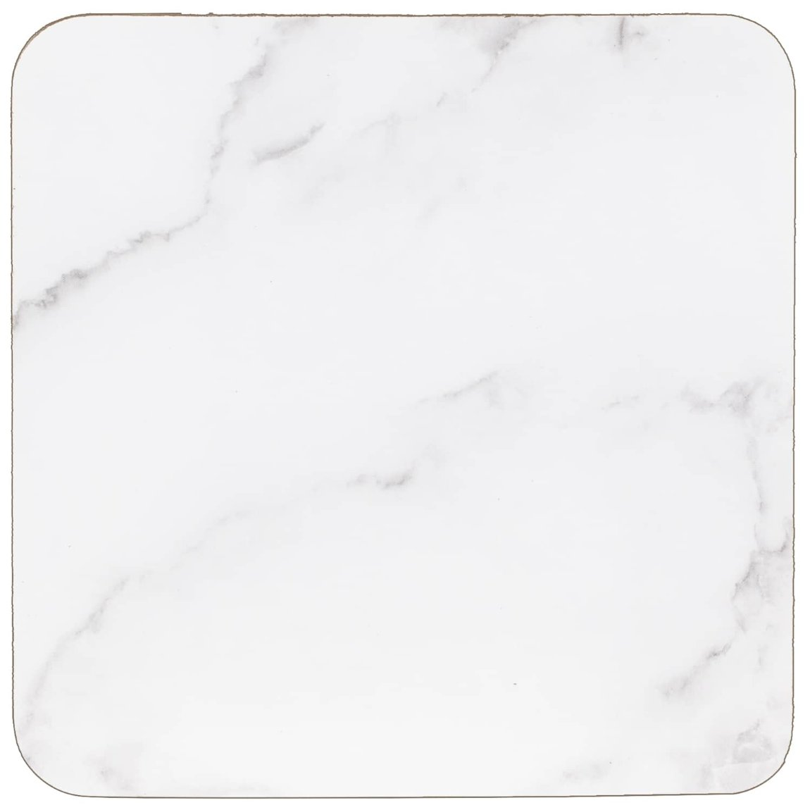 Modern Cork Placemat & Coaster Set 8pc - Marble