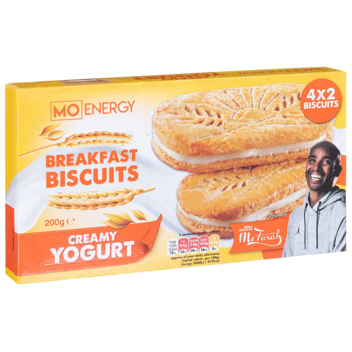 Mo Energy Breakfast Biscuits Creamy Yoghurt 200g