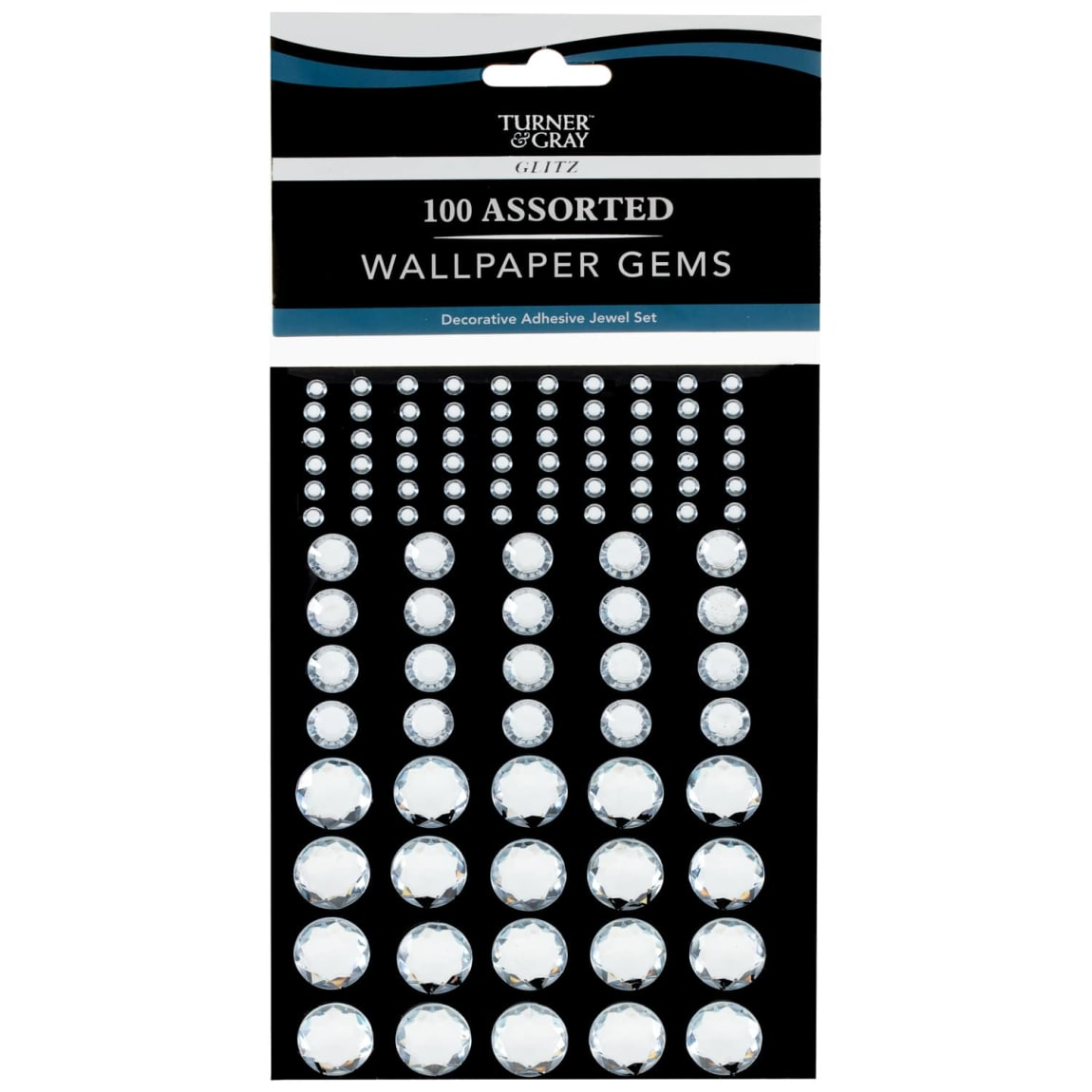 Turner & Gray Assorted Wallpaper Gems 100pk