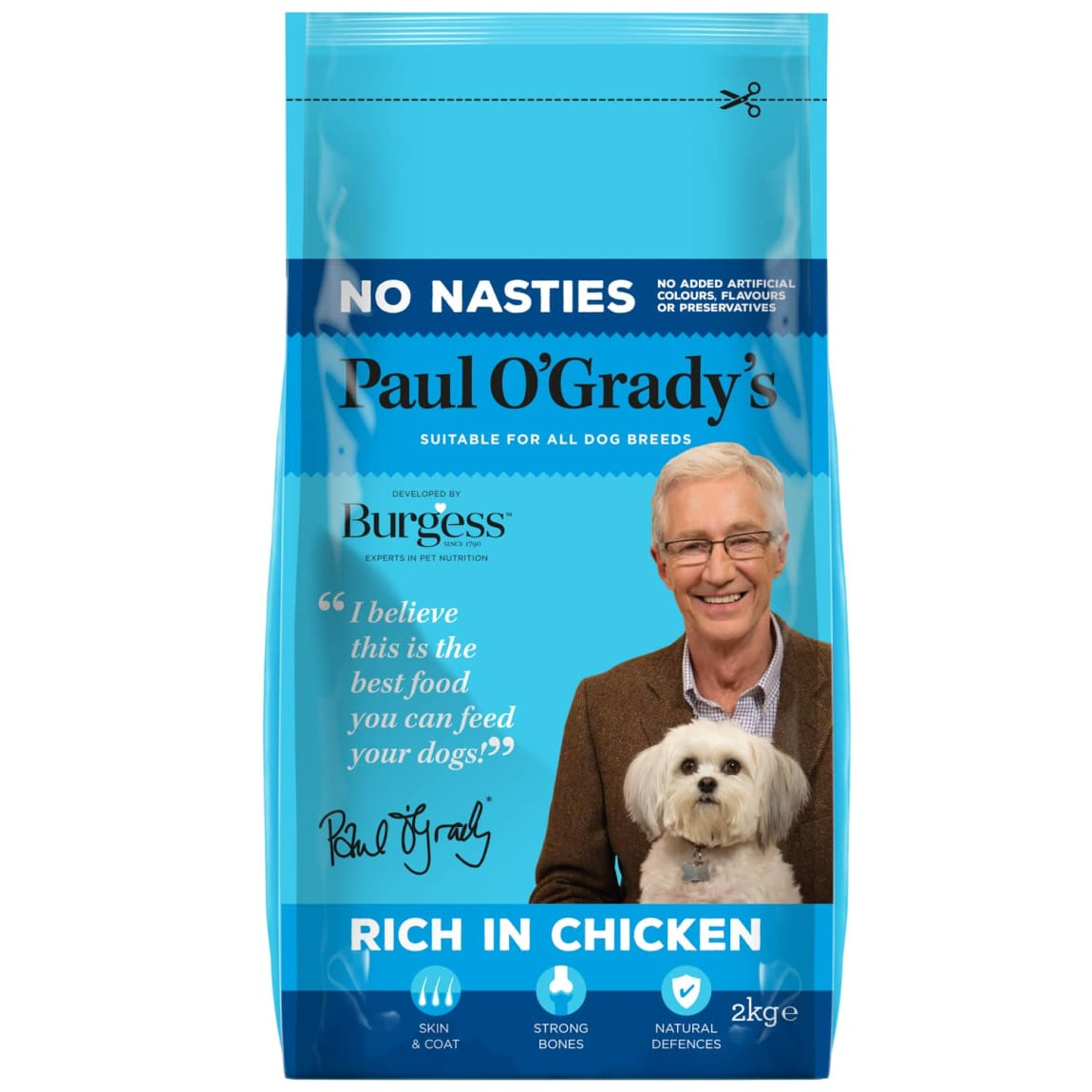 Paul O'Grady's No Nasties Rich in Chicken 2kg