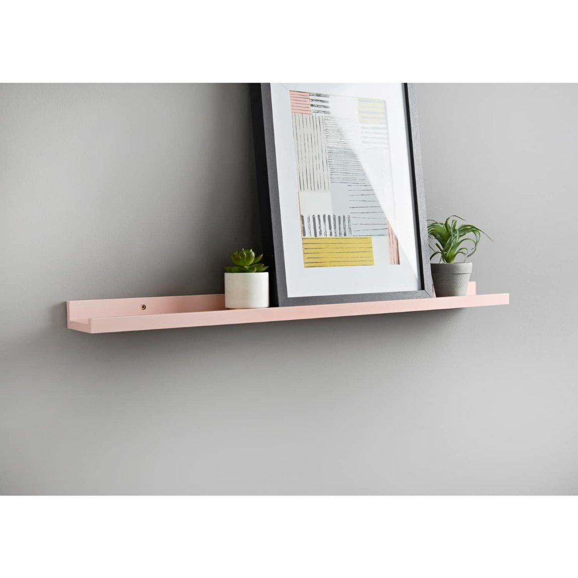 Lokken Wide Photo Shelf - Blush