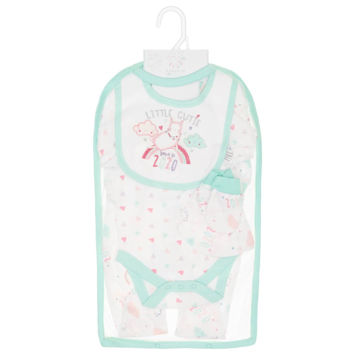 Born in 2020 Baby 5pc Set - Little Cutie