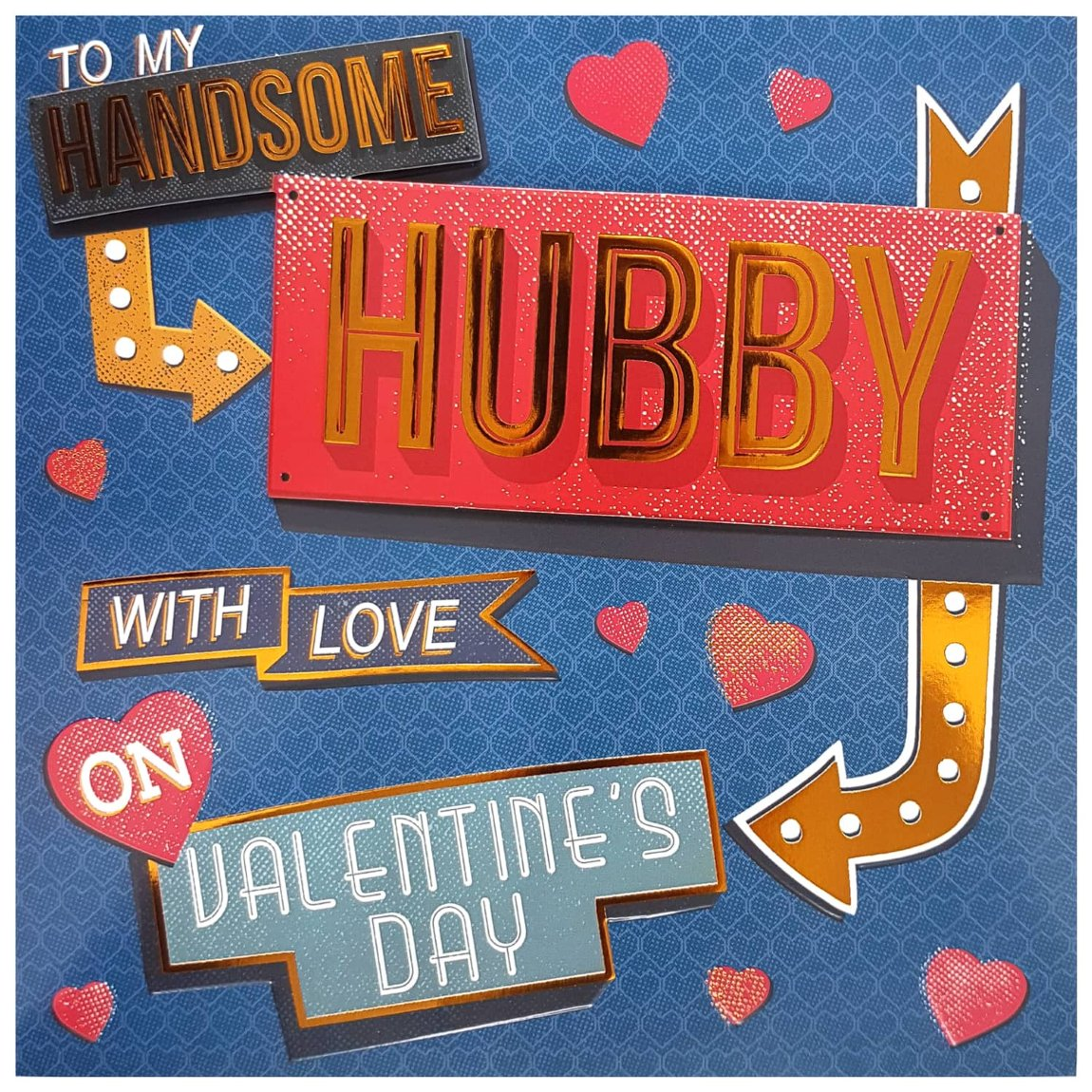 Handsome Hubby - Valentine's Day Card
