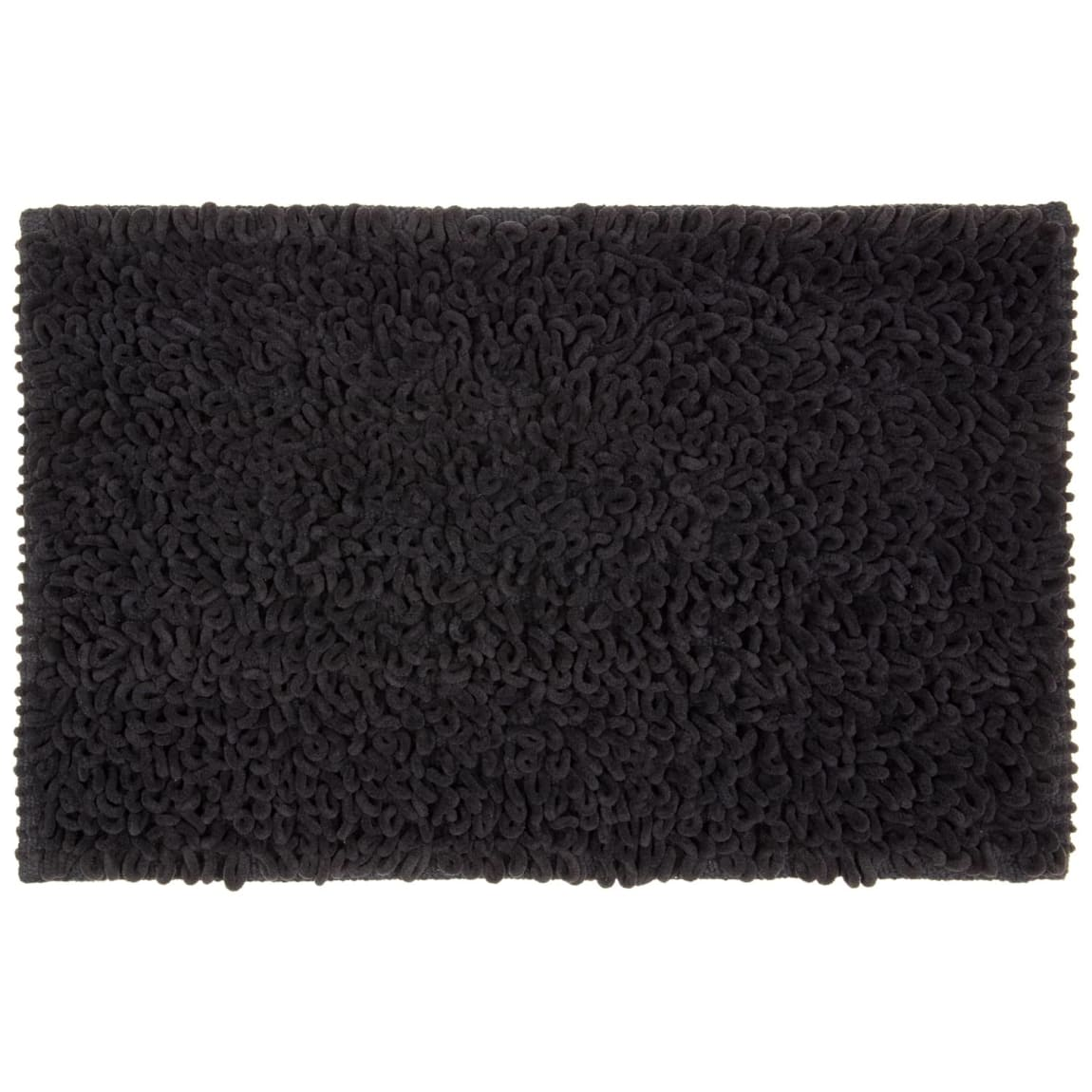 Loop Bath Mat 45 x 75cm - Black