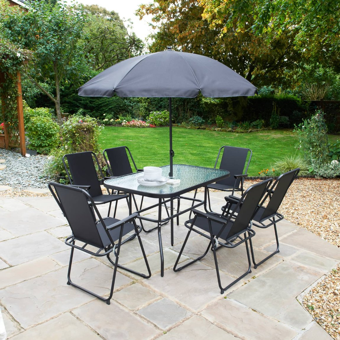 Milano Garden Patio Set 8pc