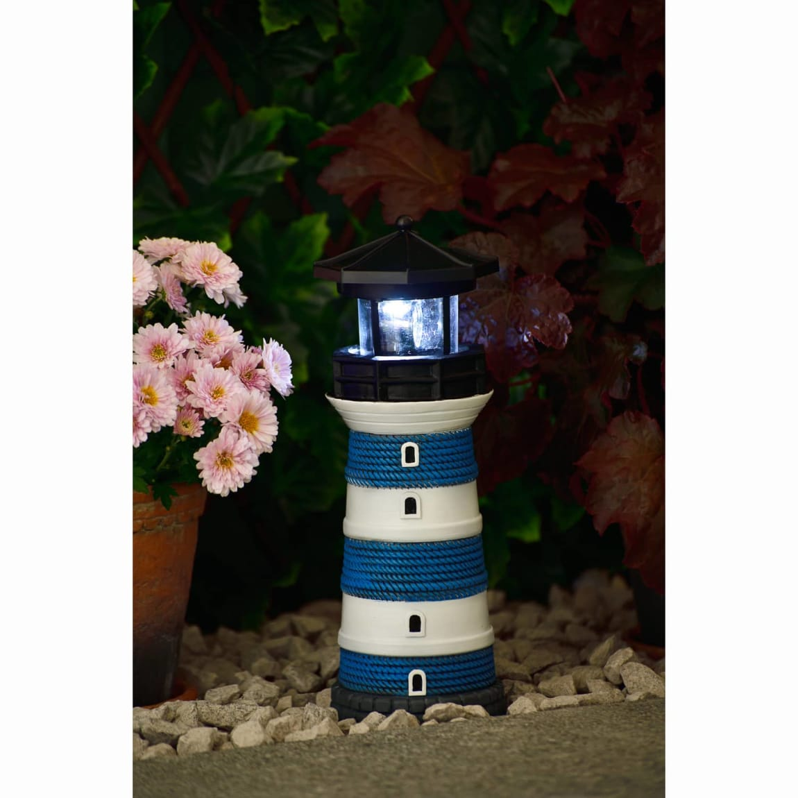 Solar Lighthouse - Blue
