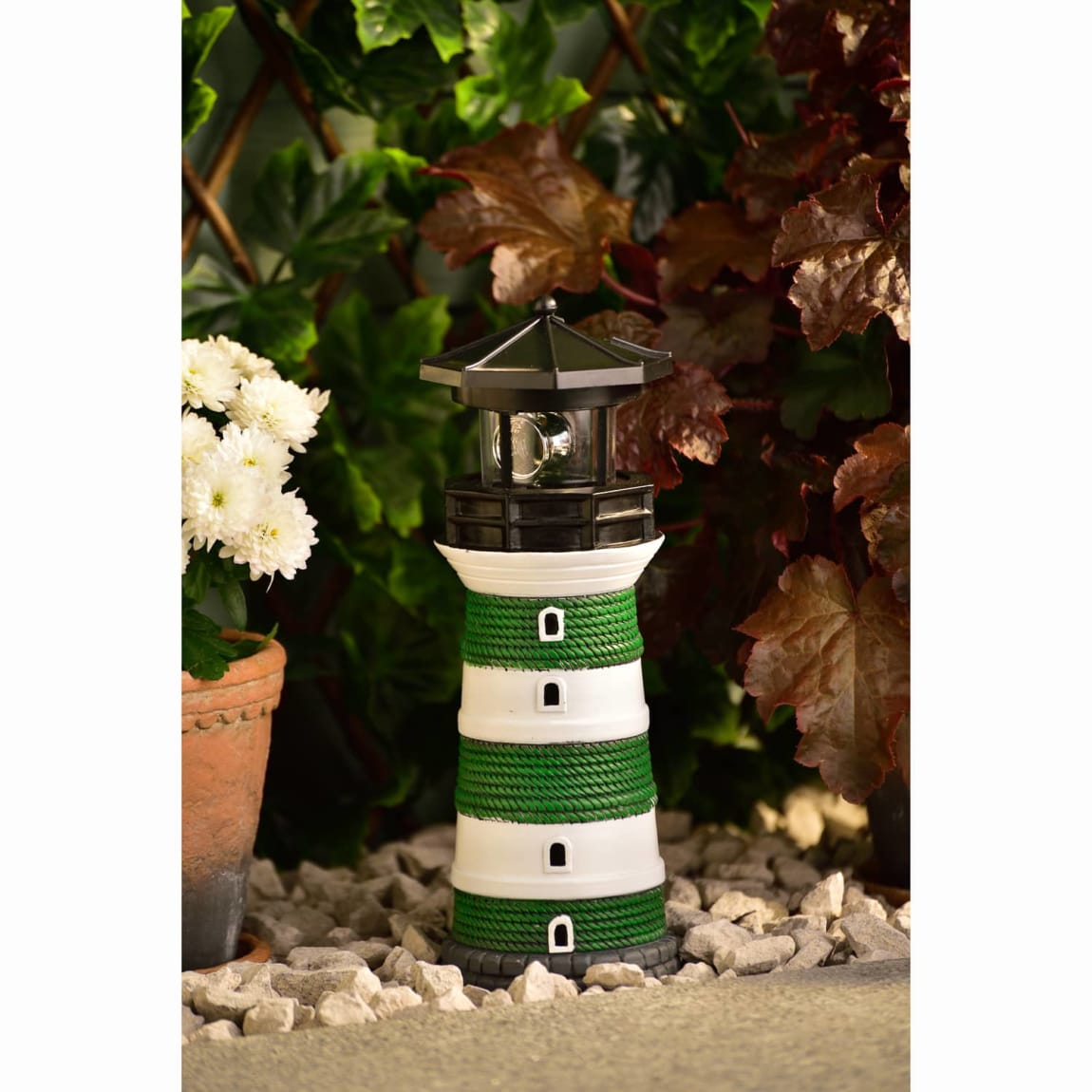 Solar Lighthouse - Green