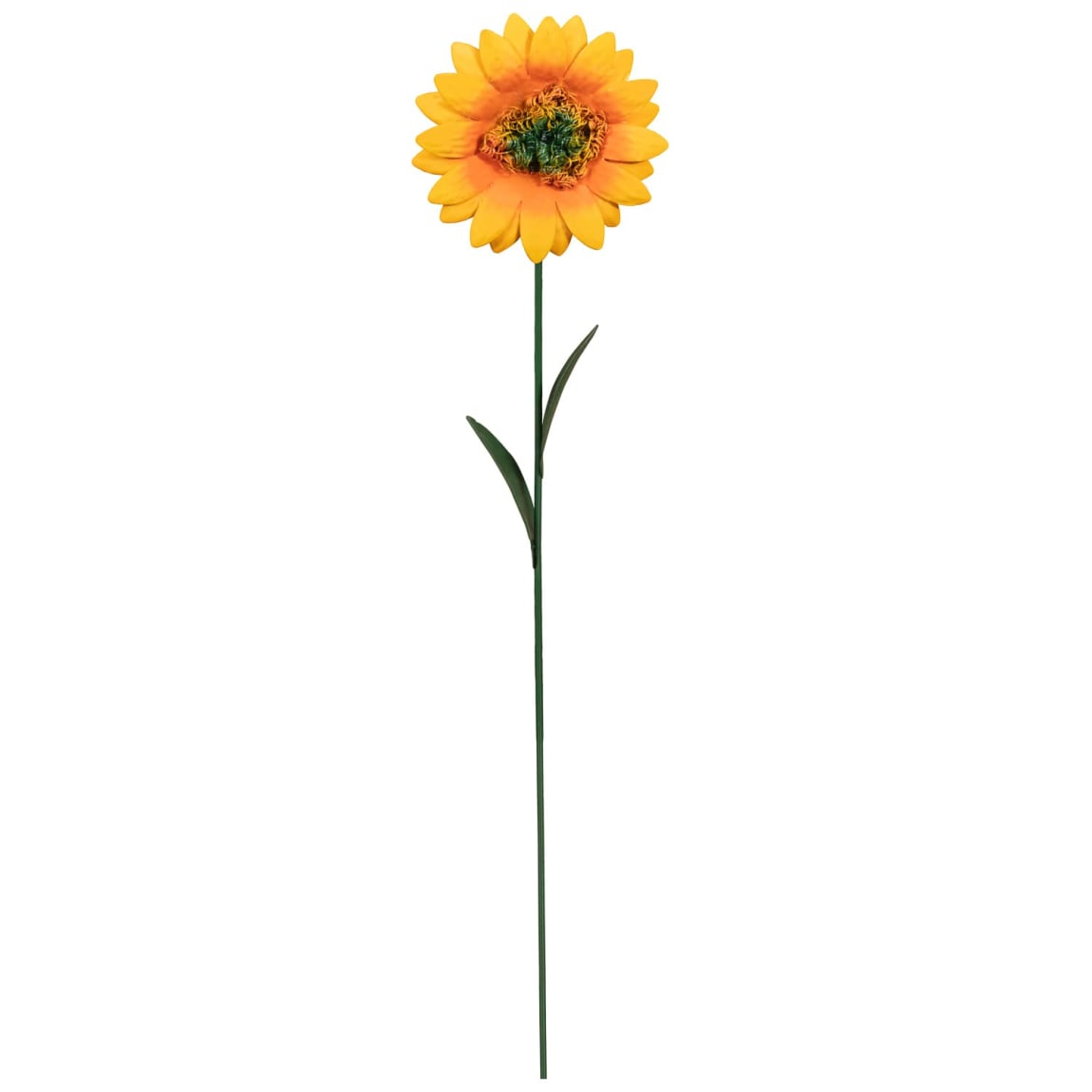 Premium 3D Metal Flower Stake - Sunflower