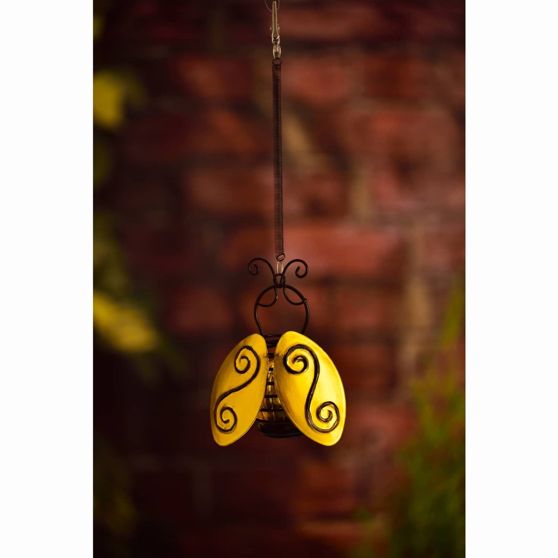 Springy Bee Solar Light