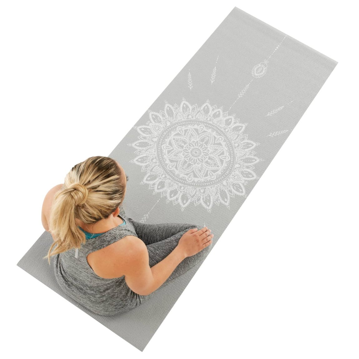 Active Yoga Mat - Grey