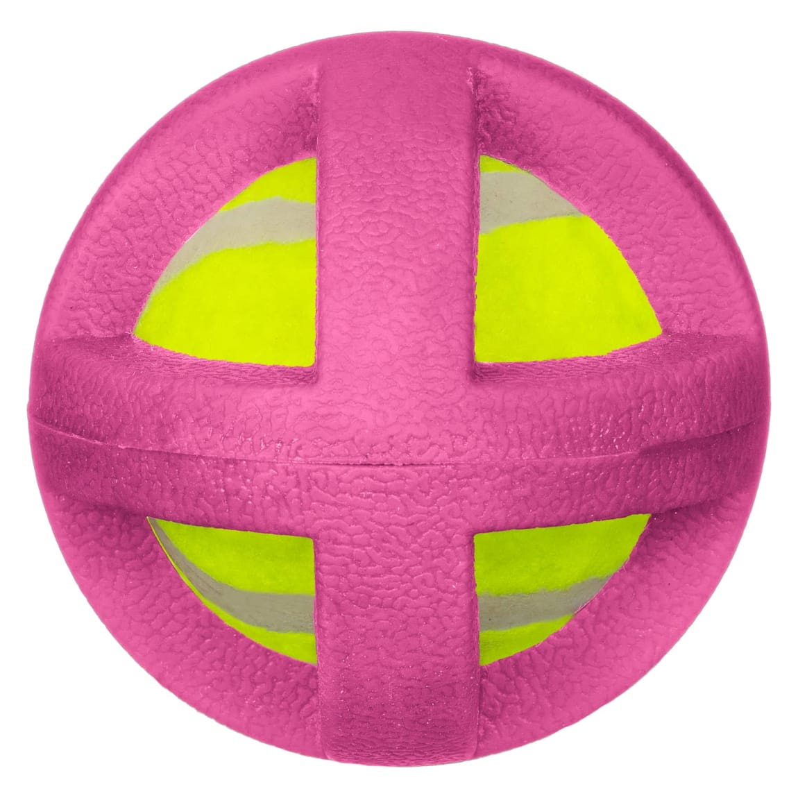 Gladiator Ball Dog Toy - Pink