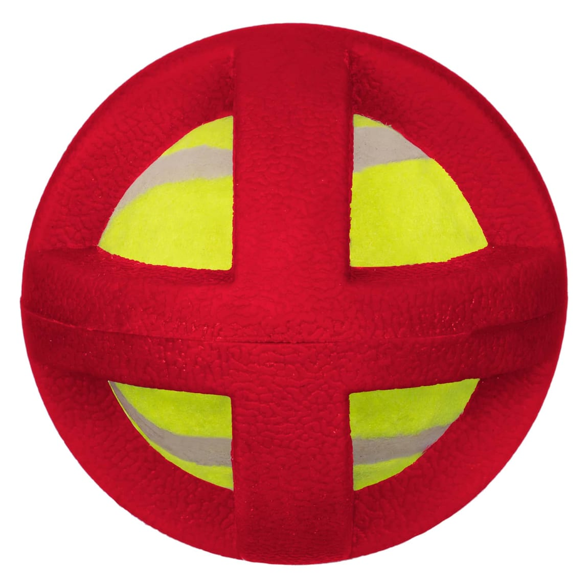 Gladiator Ball Dog Toy - Red