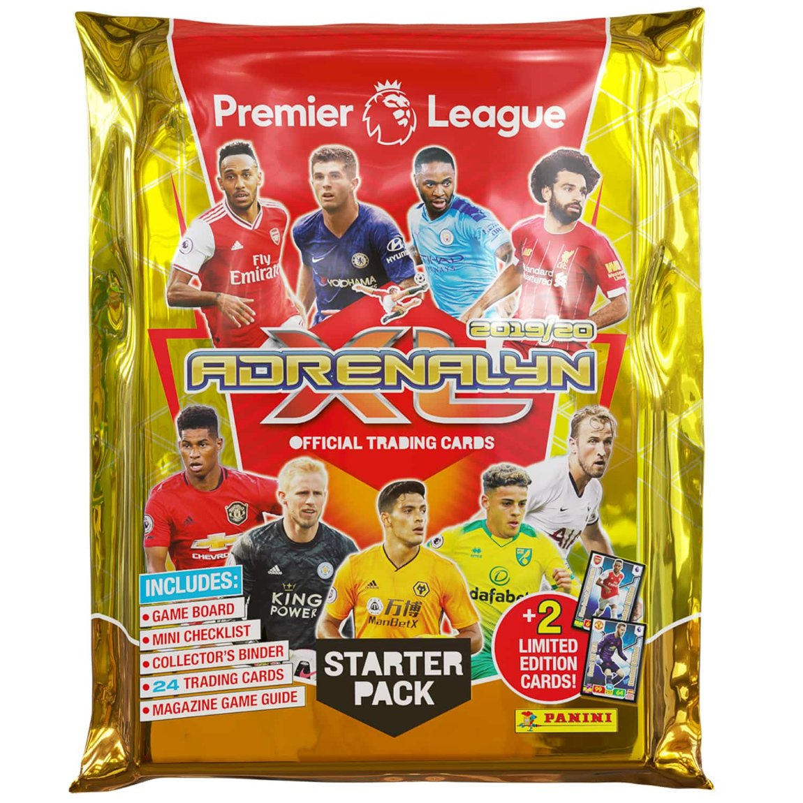 Premier League Adrenalyn XL 2019/20 Trading Cards Starter Pack