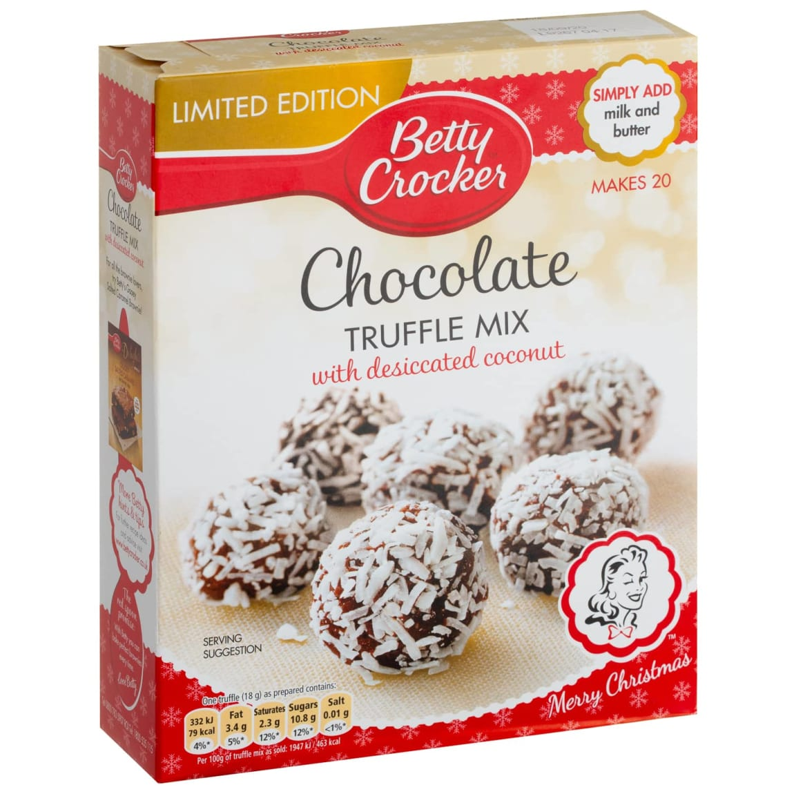 Betty Crocker Chocolate Truffle Mix 305g